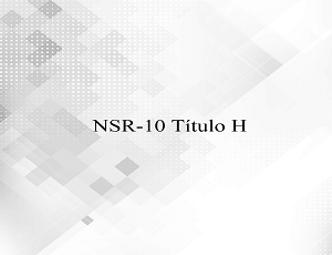 NSR-10 Título H